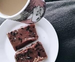 brownies, dessert, and moomin image