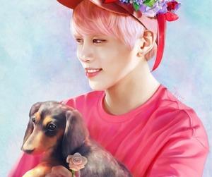Jonghyun, fan art, and kpop image