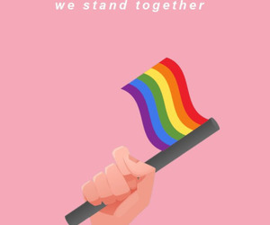 lgbt, gay, and pink image