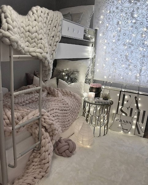 room, bedroom, and decoration image