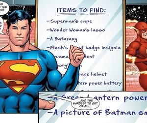 batman, DC, and flash image