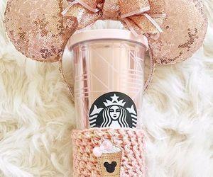 starbucks, pink, and rose gold image