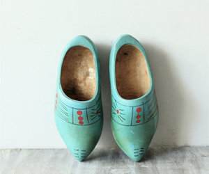 clogs, vintage, and klompen image