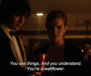 emma watson, the perks of being a wallflower, and girl image