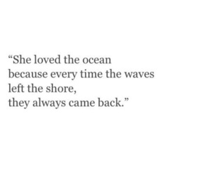quotes, love, and ocean image