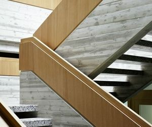 interior design, stairs, and staircase image
