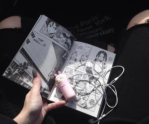 manga, black, and aesthetic image