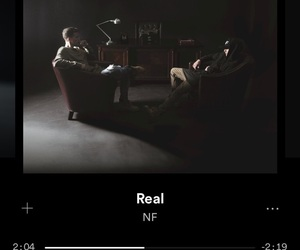 real, spotify, and music image