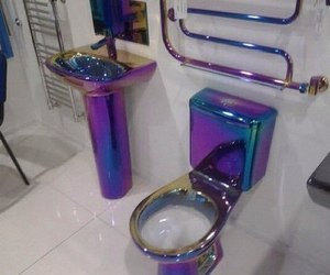 bathroom and colors image