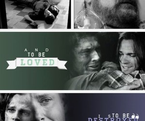 aesthetic, supernatural, and john winchester image