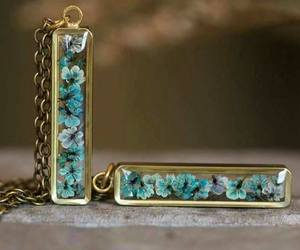 blue, accessorie, and flower image