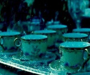 blue, teacup, and teal image