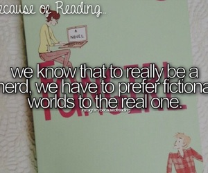 fangirl and because of reading... image