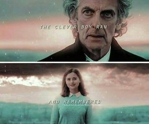 clara, doctorwho, and thedoctor image