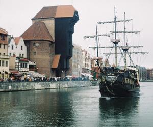 ship, boat, and gdansk image