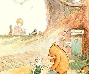 disney, pooh, and winnie the pooh image