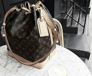 bags, LV, and fashion image