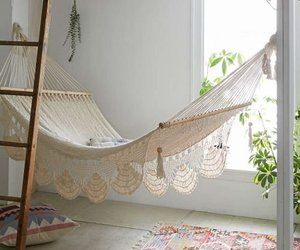 hammock, home, and room image