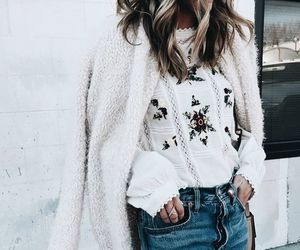 fashion, floral print, and outfit image