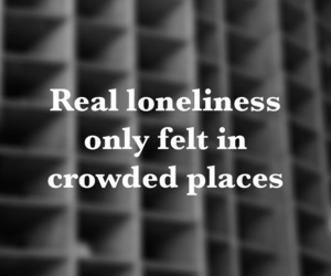 loneliness, lonely, and Lyrics image