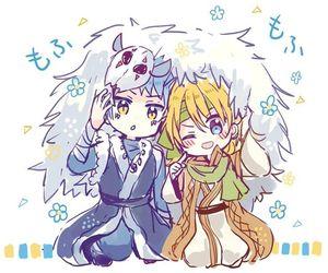 akatsuki no yona and zeno image