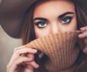 beautiful, eyes, and fashion image