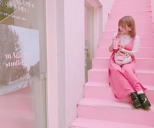 dessert, pink, and sweet image