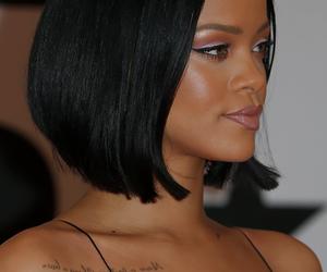 face, rihanna, and makeup image