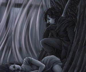 dark, jedi, and light image