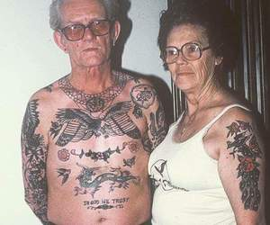 couple and tatto image