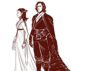 jedi, star wars, and reylo image