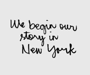 quotes, new york, and city image