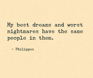 dreams, quotes, and nightmare image