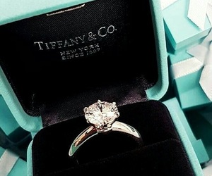 diamond, ring, and tiffany image