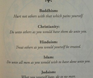 buddhism, religion, and Christianity image