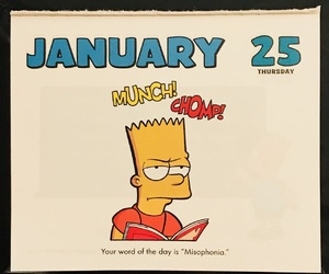 25, bart, and the simpsons image