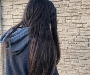 goals, hair, and long image