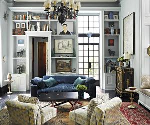 art, interior design, and decor image