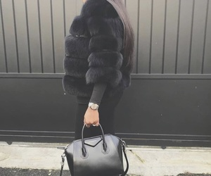 black, classy, and chic image