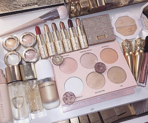 glam, glitter, and mac image