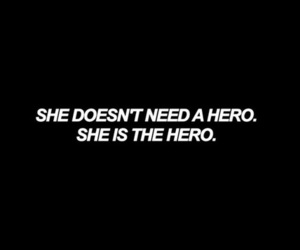 quotes, hero, and woman image