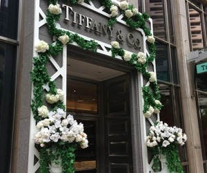 flowers, tiffany, and tiffany & co image
