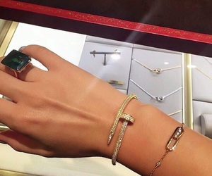 bracelet, cartier, and luxury image