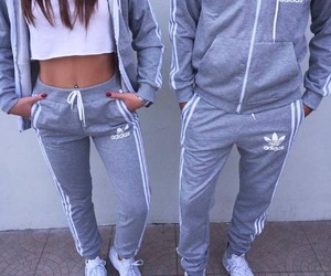 couple, adidas, and girl image
