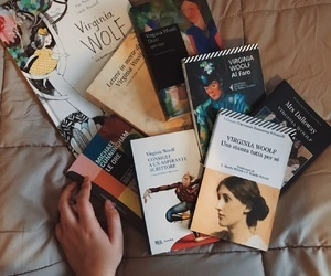 book, birthday, and virginia woolf image
