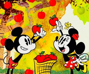mickey mouse and minnie mouse image