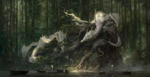 dragon, fantasy, and art image