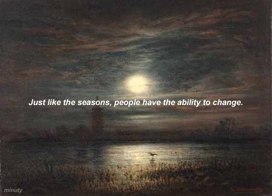 seasons, ability, and changing image
