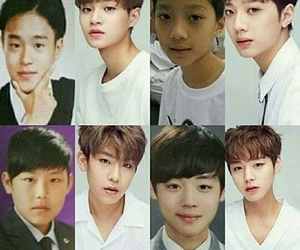 predebut, wanna one, and park jihoon image