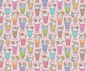 background, caja wong-chung, and milkshake image